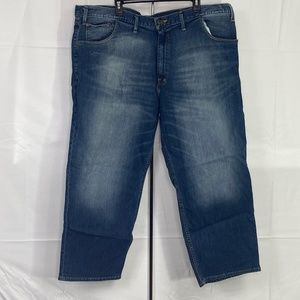 Foundry Relax Fit Blue Jeans Denim 48x29